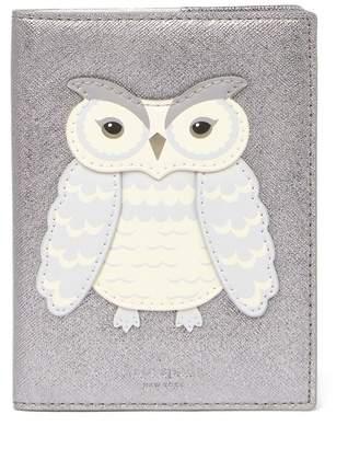 Kate Spade Owl Applique Passport Holder
