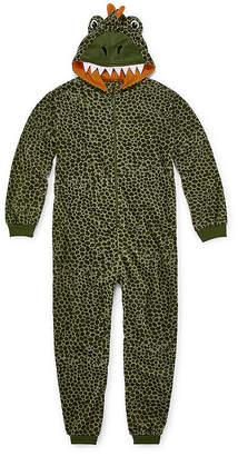 Arizona Boys Microfleece One Piece Pajama Long Sleeve