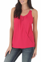 Wrangler Sleeveless Surplice Top