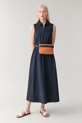 Cos Straw Belt Bag