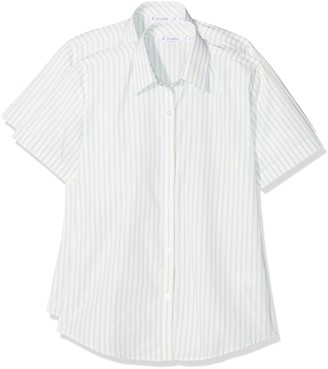 Trutex Girl's Scb Contemp Shirt (Pack of 2)