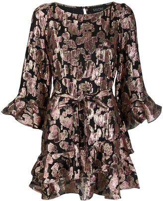 Saloni Marissa sequinned mini dress