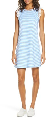 Lilly Pulitzer Agee Sleeveless Stripe Shift Dress
