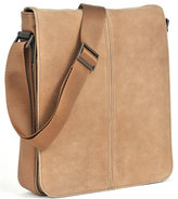 Boconi 'Leon Mailbag' Calfskin Leather Crossbody Bag