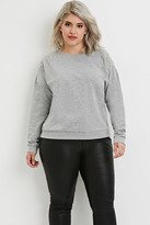 Forever 21 FOREVER 21+ Plus Size Rhinestone Embellished Pullover