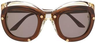 Kuboraum W1 double layered mask sunglasses