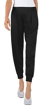 ATM Anthony Thomas Melillo Hammered-Silk Pull-On Pants