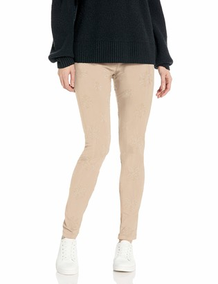 Johnny Was Women's Tonal Embroidered Rayon Leggings