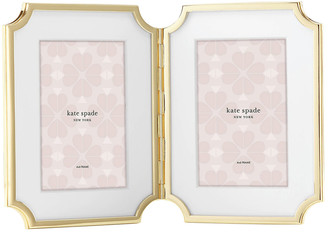 """Kate Spade Sullivan Street 4"""" X 6"""" Double Picture Frame"""
