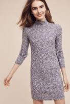 Splendid Silver Mountain High-Necked Tunic Dress