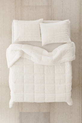 Urban Outfitters Quilted Fringe Comforter
