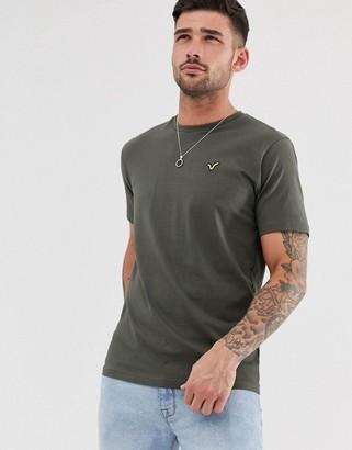 Voi Jeans basic t-shirt-Green