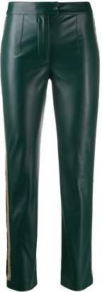 Patrizia Pepe embroidered skinny trousers