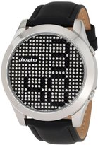 Phosphor Men's MD006G Appear Collection Fashion Crystal Mechanical Digital Watch