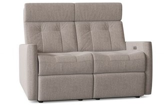 """Palliser Furniture Waverly Reclining 55"""" Square Arm Loveseat Body Fabric: Ambient Storm"""