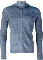 Corneliani zip-up knitted sweater