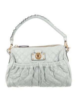 Marc Jacobs Quilted Chain Hobo Green