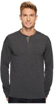 The North Face Long Sleeve Terry Henley Men's Long Sleeve Pullover