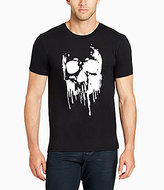 William Rast Black Skull Of Drips Short-Sleeve Graphic T-Shirt