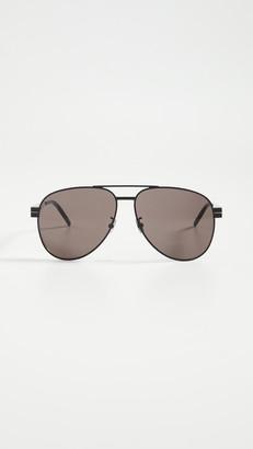 Saint Laurent Pilot Aviator Sunglasses
