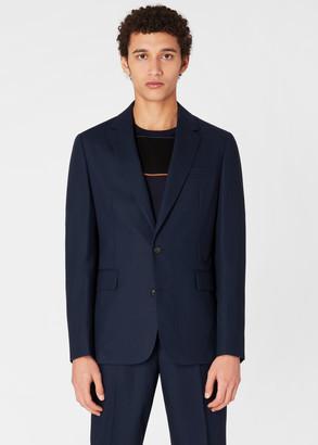 Paul Smith The Kensington - Men's Slim-Fit Navy Travel Pro Loro Piana Wool Blazer