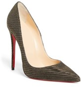 Christian Louboutin Women's So Kate Pointy Toe Pump