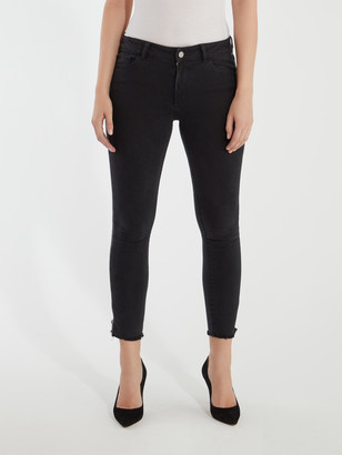 DL1961 Florence Crop Mid Rise Skinny Jeans