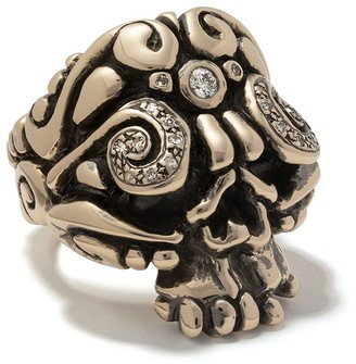 DUFFY Skull ring