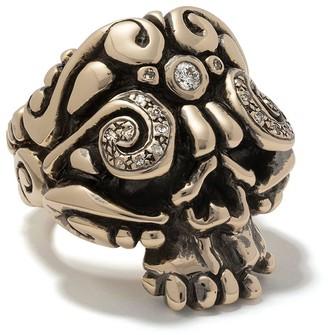 Duffy Jewellery Skull ring