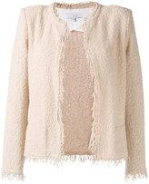 IRO frayed tweed jacket
