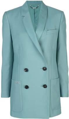 Fendi straight-cut logo blazer