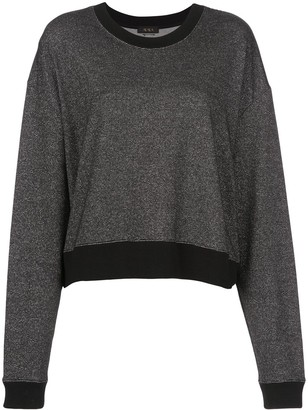 ALALA Two-Tone Oversized Sweatshirt