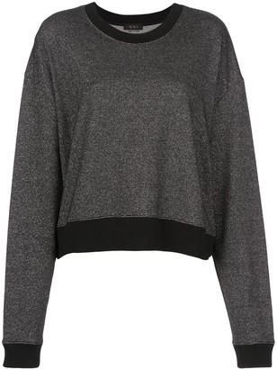 ALALA Two-Tone Oversized Sweatshirt