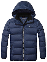 Tommy Hilfiger Boys' Quilted Jacket, Navy