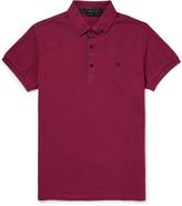 Etro - Paisley-trimmed Cotton-piqué Polo Shirt