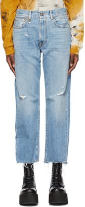 R13 Blue Vintage Boyfriend Jeans