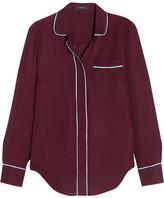 J.Crew Silk Shirt - Burgundy