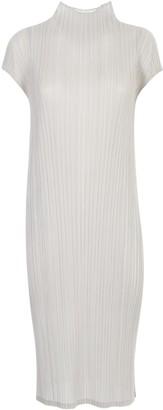 Pleats Please Issey Miyake S/s Turtleneck Dress