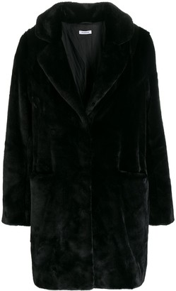 P.A.R.O.S.H. faux fur coat