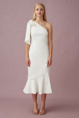 Keepsake YOUR TOUCH MIDI DRESS Porcelain