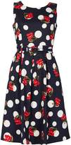 Izabel London Cherry Dot Vintage Dress