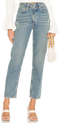 Free People Fast Times High Rise Mom Jean