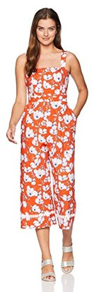 Eliza J Women's Floral Print Jumpsuit