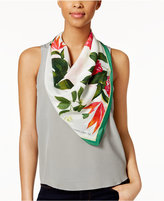 Vince Camuto Tropic Floral Silk Square Scarf