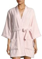 Kate Spade Long-Sleeve Cotton Robe