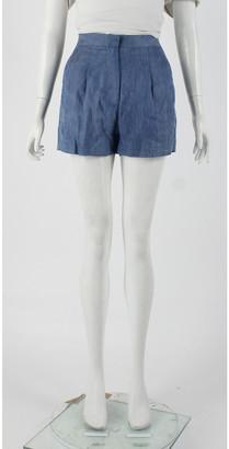 Acne Studios Blue Viscose Shorts