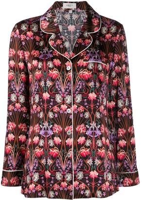 Liberty London Virginia floral-print pajama set
