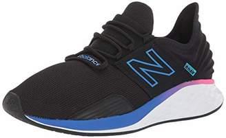 New Balance Men's Fresh Foam Roav Running Shoes, Black, 8.5 (42.5 EU)