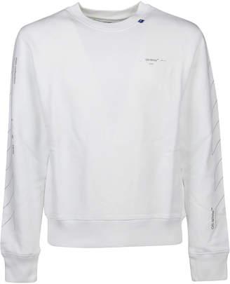 Off-White Off White Felpa Diag Unfinished