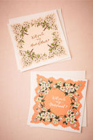 BHLDN Bouquet Will You Card